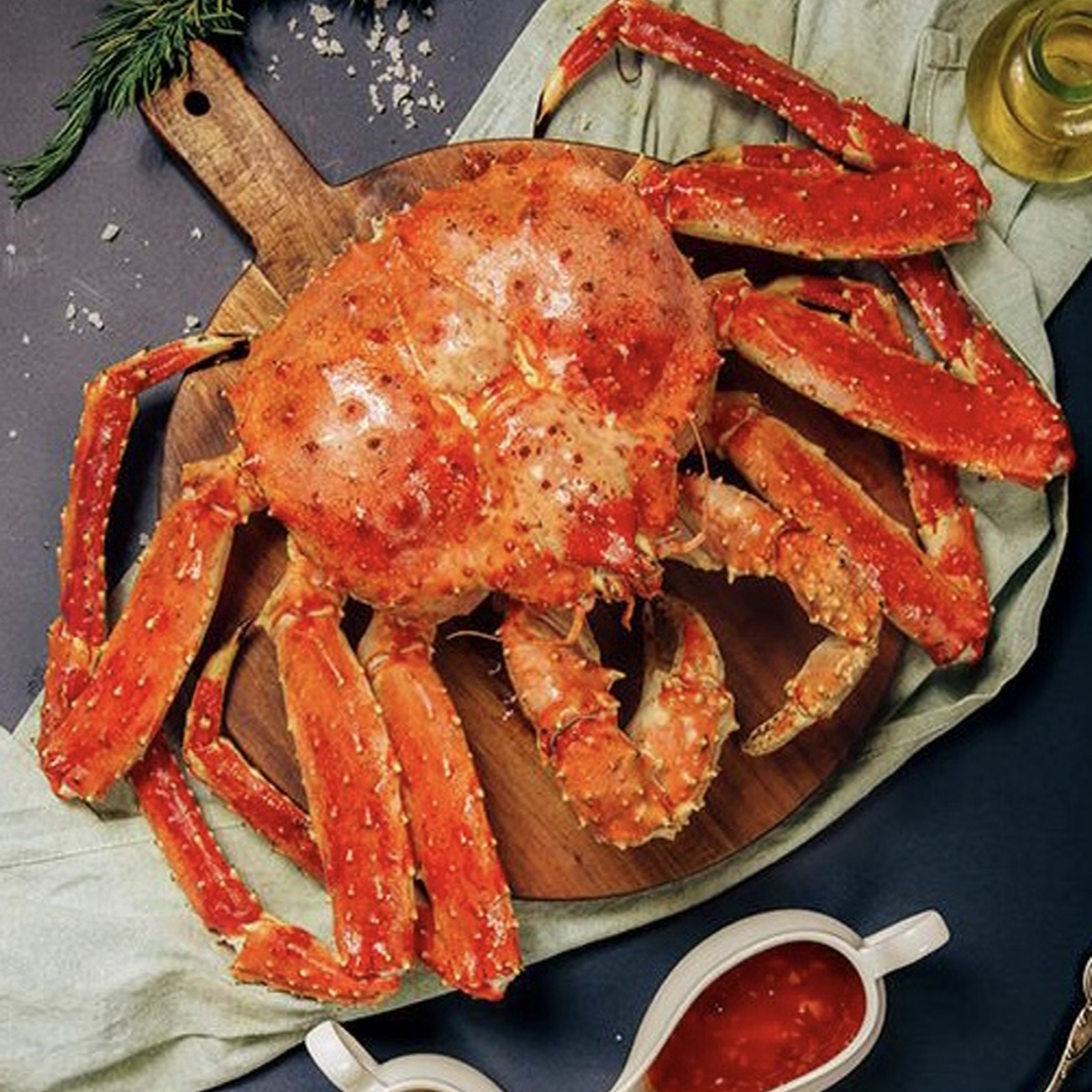 Cua hoàng đế-king crab